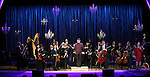 Luke S. Frazier and and orchestra with Fran Drescher performing in The American Pops Orchestra '75 Years of Streisand'  at the George Washington University Lisner Auditorium on January 13, 2017 in New York City.