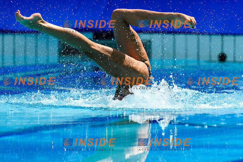 RUS - Russian Federation ISHCHENKO Natalia ROMASHINA Svetlana<br /> Duets Technical Routine <br /> Rio de Janeiro 15-08-2016 Maria Lenka Aquatics Center  <br /> Synchronised Swimming <br /> Nuoto Sincronizzato <br /> Foto Andrea Staccioli / Deepbluemedia /Insidefoto