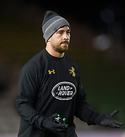 Wasps' Danny Cipriani during the pre match warm up<br /> <br /> Photographer Bob Bradford/CameraSport<br /> <br /> European Rugby Challenge Cup - Harlequins v Wasps - Sunday 13th January 2018 - Twickenham Stoop - London<br /> <br /> World Copyright &copy; 2018 CameraSport. All rights reserved. 43 Linden Ave. Countesthorpe. Leicester. England. LE8 5PG - Tel: +44 (0) 116 277 4147 - admin@camerasport.com - www.camerasport.com