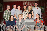 RUBY CELEBRATION: On Saturday night last, Julia Mary & Jimmy O'Flaherty, Lixnaw (seated centre) celebrated their 40th wedding anniversary in Cassidy's restaurant, Tralee with their family, also seated is Lorraine O'Flaherty (left) and Marion O'Flaherty (right). Standing l-r: Patrick O'Connor, James and Ciaran O'Flaherty, Triona O'Connor, Aoife O'Flaherty and Liam O'Sullivan.