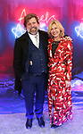 """Oskar Eustis and Laurie Eustis attends the Broadway Opening Night Arrivals for """"Angels In America"""" - Part One and Part Two at the Neil Simon Theatre on March 25, 2018 in New York City."""