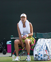 ANA IVANOVIC (SRB)<br /> <br /> TENNIS - THE CHAMPIONSHIPS - WIMBLEDON 2015 -  LONDON - ENGLAND - UNITED KINGDOM - ATP, WTA, ITF <br /> <br /> &copy; AMN IMAGES