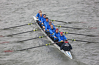 Crew: 182   Christiania Roklub, NOR (NO)/Kingston Rowing Club/Berliner Ruder-Club (DE)/Koninklijke Amsterdamsche Rzv De Hoop (NL)   Mx.MasD-F.8+ (F)<br /> <br /> Veterans' Head of the River Race 2018<br /> <br /> To purchase this photo, or to see pricing information for Prints and Downloads, click the blue 'Add to Cart' button at the top-right of the page.