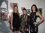 Heide Lindgren, Artist Shawn Bishop-Leo and Dana Douglas attend MARC BOUWER's EXCLUSIVE SCREENING of the FW2010 film starring CANDICE SWANEPOEL at the Leo Kesting Gallery, New York-  -February 18, 2010