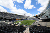 Chicago, IL - Sunday June 05, 2016: Soldier Field prior to a Copa America Centenario Group C match between Jamaica (JAM) and Venezuela (VEN) at Soldier Field.
