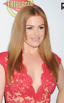 HOLLYWOOD, CA - AUGUST 23: Isla Fisher arrives at the Los Angeles premiere of 'Bachelorette' at the Arclight Hollywood on August 23, 2012 in Hollywood, California.