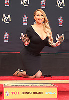 HOLLYWOOD, CA - NOVEMBER 1: Mariah Carey, at Mariah Carey Hand And Footprint Ceremony' At The TCL Chinese Theatre in Hollywood, California on November 1, 2017. Credit: Faye Sadou/MediaPunch