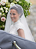 20.05.2017; Englefield, UK: PIPPA MIDDLETON AND HER FATHER MICHAEL<br /> arrive at St Mark's Church, Englefield, for her Wedding to James Mathews.<br /> Also present at the church service were the Duke and Duchess of Cambridge, Prince George, Princess Charlotte and Princess Eugenie.<br /> Mandatory Photo Credit: &copy;Francis Dias/NEWSPIX INTERNATIONAL<br /> <br /> IMMEDIATE CONFIRMATION OF USAGE REQUIRED:<br /> Newspix International, 31 Chinnery Hill, Bishop's Stortford, ENGLAND CM23 3PS<br /> Tel:+441279 324672  ; Fax: +441279656877<br /> Mobile:  07775681153<br /> e-mail: info@newspixinternational.co.uk<br /> Usage Implies Acceptance of OUr Terms &amp; Conditions<br /> Please refer to usage terms. All Fees Payable To Newspix International