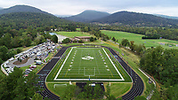 Blue Ridge School Football Field located in Greene County, Va. Photo/Andrew Shurtleff Photography, LLC