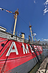 Ambrose Light Ship, South Street Seaport, New York Harbor