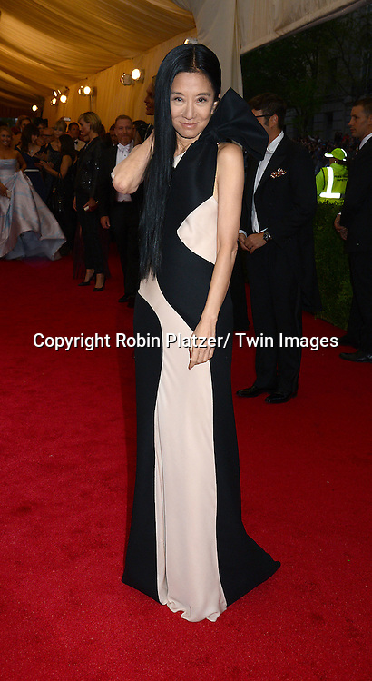 Vera Wang attends the Costume Institute Benefit on May 5, 2014 at the Metropolitan Museum of Art in New York City, NY, USA. The gala celebrated the opening of Charles James: Beyond Fashion and the new Anna Wintour Costume Center.