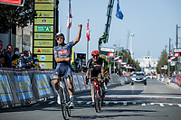 Gianni Vermeersch (BEL/Alpecin-Fenix) wins the Antwerp Port Epic 2020 edition<br /> <br /> One Day Race: Antwerp to Antwerp 183km; of which 28km are cobbles and 35km is gravel/off-road<br /> Bingoal Cycling Cup 2020