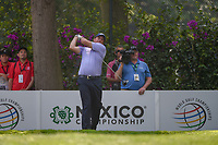 Phil Mickelson (USA) watches his tee shot on 14 during round 1 of the World Golf Championships, Mexico, Club De Golf Chapultepec, Mexico City, Mexico. 3/1/2018.<br /> Picture: Golffile | Ken Murray<br /> <br /> <br /> All photo usage must carry mandatory copyright credit (&copy; Golffile | Ken Murray)