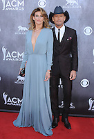 LAS VEGAS, NV - APRIL 6:  Faith Hill and Tim McGraw at the 49th Annual Academy of Country Music Awards at the MGM Grand Garden Arena on April 6, 2014 in Las Vegas, Nevada.MPIPG/Starlitepics