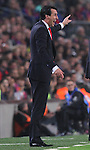 22.11.2014 Barcelona. La Liga day 12. Picture show Unai Emery in action during game between FC Barcelona v Sevilla at Camp Nou