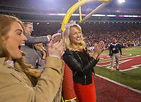 HAWGS ILLUSTRATED JASON IVESTER<br /> Arkansas vs LSU on Saturday, Nov. 12, 2016, at Donald W. Reynolds Razorback Stadium in Fayetteville.
