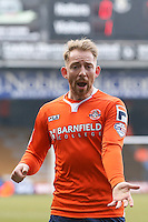 Danny Green of Luton Town during the Sky Bet League 2 match between Luton Town and Crawley Town at Kenilworth Road, Luton, England on 12 March 2016. Photo by David Horn/PRiME Media Images.