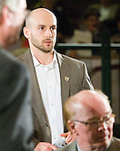Chris Connolly (BU) - The 2012 Hobey Baker Award ceremony was held at MacDill Air Force Base on Friday, April 6, 2012, in Tampa, Florida.