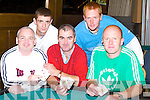POKER: Playing in the Poker Classic at The Grand Hotel, Tralee, on Sunday, l-r: Mike O'Donnell, Martin McSweeney, Mark Teahan, Aidan O'Sullivan and Jason O'Connor.