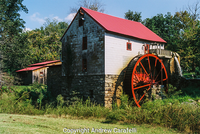 Guilford Mill is located near Oak Ridge, North Carolina. It was built in 1767 and is still operational today!