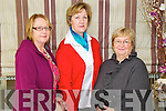 Pictured at the Enable Ireland Ladies Luncheon in the Earl of Desmond Hotel, Tralee on Friday, from left: Mary Donegan (Ballyduff), Breda Walsh (Ballyseedy) and Bridie Quinlan (Ballyduff)..