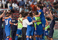 Italy. Italy defeated the US Under-17 Men's National Team 2-1 in Kaduna, Nigera on November 4th, 2009.