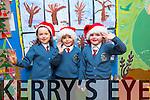 CHRISTMAS PLAY: Evan McCarthy, Daniel Casey, Rose O'Brien  students  at Scoil Eoin, Balloonagh enjoying their Christmas play on Tuesday