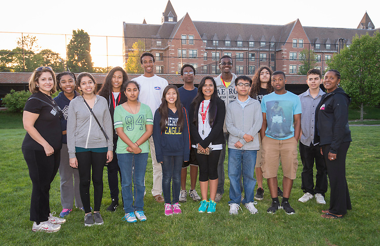 Houston ISD EMERGE students travel to Boston on the first day of a field trip to visit universities in the area.
