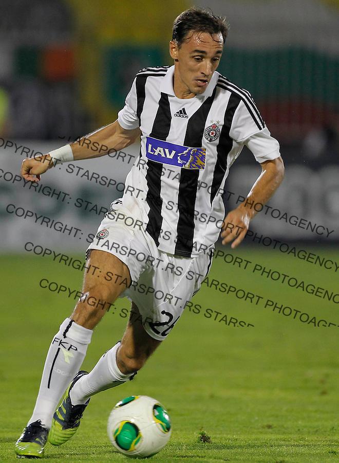 Fudbal UEFA Champions League season 2013-2014<br /> Third qualifying round, Second leg<br /> Partizan v Ludogorec<br /> Milan Obradovic<br /> Beograd, 06.08.2013.<br /> foto: Srdjan Stevanovic/Starsportphoto &copy;