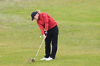 Amelia Garvey (NZL) on the 2nd fairway during Matchplay Semi-Finals of the Women's Amateur Championship at Royal County Down Golf Club in Newcastle Co. Down on Saturday 15th June 2019.<br /> Picture:  Thos Caffrey / www.golffile.ie