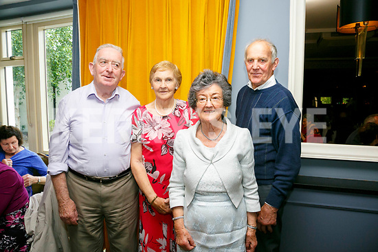 Enjoying the Sliabh Luachra Active Retired Gala Tea Dance at Ballygarry House Hotel & Spa on Monday were Bert O'Mahony, Margaret O'Mahony, Helen Penbrooke and Timmy O'Mahony