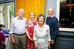 Enjoying the Sliabh Luachra Active Retired Gala Tea Dance at Ballygarry House Hotel & Spa on Monday were Bert O'Mahony, Margaret O'Mahony, Helen Penbrooke and Timmy O'Mahony