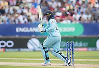 Jason Roy (England) pulls square of the wicket during Australia vs England, ICC World Cup Semi-Final Cricket at Edgbaston Stadium on 11th July 2019