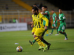 Equidad y Alianza Petrolera igualaron sin goles en el estadio Metropolitano de Techo, por la fecha 14 del Torneo Clausura Colombiano 2015.