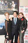 "Cindy Jourdain and Arionel Vargas, stars of the film ""Love Tomorrow"" attend the world premiere alongside Darcy Bussell at the 20th Raindance Film Festival, London."