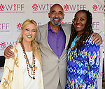 "COCONUT GROVE, FL - MARCH 30:Mercedes Ortega Vega, BaBa Adekemi Lyons and Yvonne Mccormack Lyons attend the Women's International Film Festival 2014 - Brunch and the screening of ""Brave Miss World"" also received the awards for the best films of the festival on March 30, 2014 in Coconut Grove, Florida. (Photo by Johnny Louis/jlnphotography.com)"