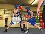 Jack McKenna St. Cianans Boxing club Tiernan Cassidy Clann Naofa Boxing Club. Photo:Colin Bell/pressphotos.ie