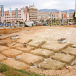 A new development called Buenavista. The grid for the foundation resembles an archaeological site.