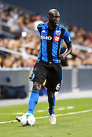 KANSAS CITY, KS - June 1, 2013:<br /> Hassoun Camara (6) midfield Montreal Impact in action.<br /> Montreal Impact defeated Sporting Kansas City 2-1 at Sporting Park.