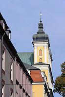 Franziskanerkirche in Posnan (Posen), Woiwodschaft Gro&szlig;polen (Wojew&oacute;dztwo wielkopolskie), Polen Europa<br /> Franciscan Church in Posnan, Poland, Europe