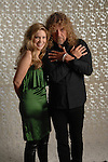 "Musicians Alison Krauss and Robert Plant pose for a portrait at Studio Berry Hill in Nashville, Tenn., Thursday, Oct. 11, 2007.  Krauss, with her bluegrass background with Union Station and Plant with his rock background as the lead singer of Led Zepplin, have collaborated on a new album called ""Raising Sand,"" produced by T. Bone Burnett. -- Photo by Jeff Adkins."