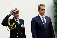 Kyriakos Mitsotakis <br /> Rome November 26th 2019. Bilateral meeting between the Italian Prime Minister and the Prime Minister of Greece.<br /> Foto Samantha Zucchi Insidefoto