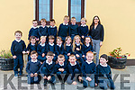 Miss O'Sullivan's new Junior Infants Class in Glounaguillagh National School in Caragh Lake