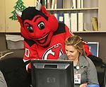 2017_12_20 RWJHamilton NJ Devil Mascot Visit