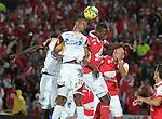 Bogotá- Independiente Santa Fe venció 5 goles por 0 a Deportes Tolima, en el partido correspondiente a la octava fecha del Torneo Clausura 2014, desarrollado el 6 de septiembre, en el estadio Nemesio Camacho 'El Campín'.
