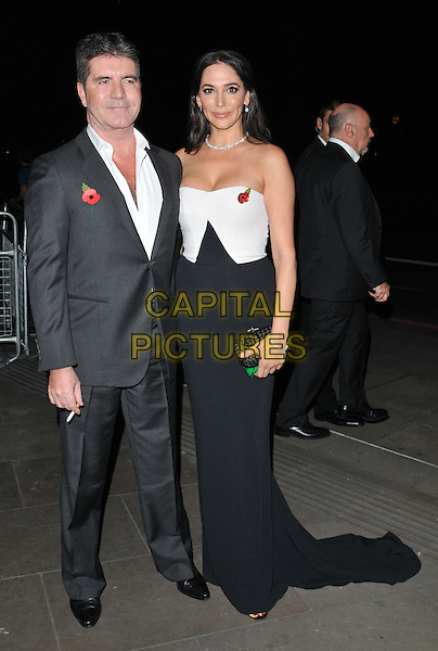Simon Cowell &amp; Lauren Silverman attend the Music Industry Trusts Award 2015, Grosvenor House Hotel, Park Lane, London, England, UK, on Monday 02 November 2015. <br /> CAP/CAN<br /> &copy;Can Nguyen/Capital Pictures
