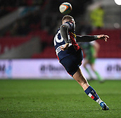 23rd March 2018, Ashton Gate, Bristol, England; RFU Rugby Championship, Bristol versus Yorkshire Carnegie; Ian Madigan of Bristol clears the ball downfield