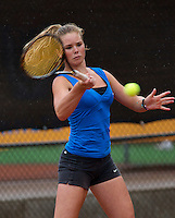07-08-13, Netherlands, Rotterdam,  TV Victoria, Tennis, NJK 2013, National Junior Tennis Championships 2013, Myrthe van der Meer<br /> <br /> <br /> Photo: Henk Koster