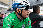 Philippe Gilbert (BEL) Deceuninck-Quick Step wearing the points Green Jersey for a wet Stage 2 of the Criterium du Dauphine 2019, running 180km from Mauriac to Craponne-sur-Arzon, France. 9th June 2019<br /> Picture: Colin Flockton | Cyclefile<br /> All photos usage must carry mandatory copyright credit (© Cyclefile | Colin Flockton)