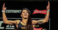 RIO DE JANEIRO, RJ, 02.06.2017 – UFC-RJ – Claudia Gadelha durante pesagem para o UFC 212 na Arena Jeunesse, na zona oeste da cidade do Rio de Janeiro, na noite desta sexta-feira (02). (Foto: Jayson Braga / Brazil Photo Press)